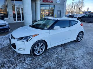Used 2016 Hyundai Veloster SE; BLUETOOTH, BACKUP CAM, HEATED SEATS, SUNROOF AND MORE for sale in Edmonton, AB