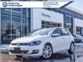 Used 2015 Volkswagen Golf HIGHLINE!! ONE OWNER - LOWEST KM IN THE MARKET!! for sale in Pickering, ON