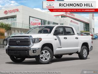 New 2020 Toyota Tundra SR5 Crew Cab  - Heated Seats for sale in Richmond Hill, ON