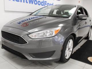 Used 2017 Ford Focus 3 Mos Deferral!|SE with heated seats, heated steering wheel and a back up cam for sale in Edmonton, AB