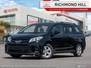 New 2020 Toyota Sienna LE 8-Passenger  - Heated Seats - $149.46 /Wk for sale in Richmond Hill, ON