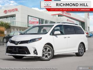New 2020 Toyota Sienna SE 8-Passenger  - Heated Seats - $167.28 /Wk for sale in Richmond Hill, ON