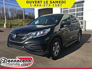 Used 2016 Honda CR-V LX *GARANTIE 10 ANS / 200 000 KM* for sale in Donnacona, QC