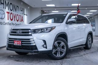 Used 2017 Toyota Highlander LIMITED  for sale in Richmond Hill, ON