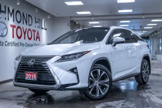 Used 2016 Lexus RX 350 Executive Package - Navigation | Heads UP Display | Mark Levinson Sound| Blind Spot | Power Lift Gate | Pana Roof | Noble Brown Premium Leather| for sale in Richmond Hill, ON