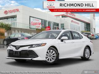 New 2020 Toyota Camry LE  - $105.45 /Wk for sale in Richmond Hill, ON