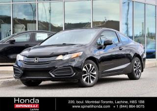 Used 2015 Honda Civic EX TOIT MANUELLE MANUELLE MAGS TOIT BLUETOOTH CAM RECUL++ for sale in Lachine, QC