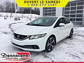 Used 2015 Honda Civic SI *GARANTIE 10 ANS / 200 000 KM* for sale in Donnacona, QC