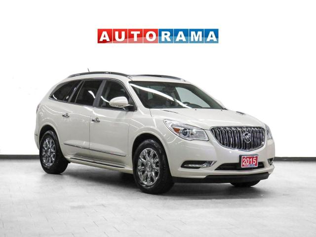 2015 Buick Enclave 4WD Nav Leather PanoRoof Bcam 7Pass