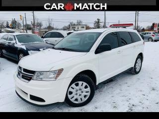 Used 2016 Dodge Journey CVP / AUTO / AC / 133369 KM for sale in Cambridge, ON