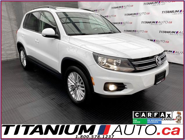 2016 Volkswagen Tiguan 4Motion+GPS+Camera+Pano Roof+Apple Play+Heated Sea