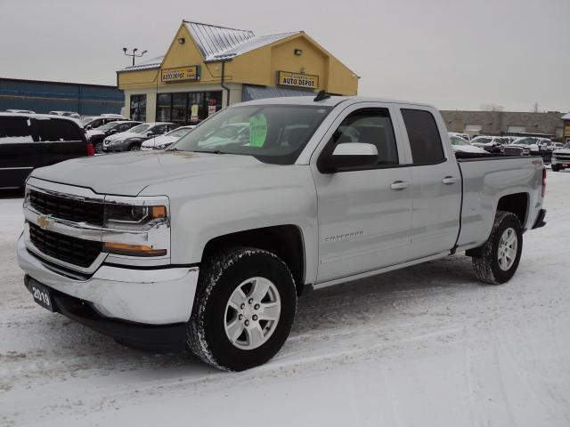 2019 Chevrolet Silverado 1500 LT DoubleCab 4x4 5.3L 6.5ft Box BackUpCam