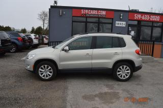 Used 2010 Volkswagen Tiguan Highline|LEATHER|PANO SUNROOF|AWD for sale in St. Thomas, ON