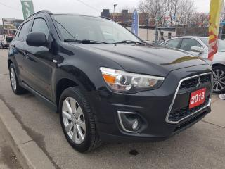 Used 2013 Mitsubishi RVR GT-AWD-NAVI-BK UP CAM-PANO ROOF-LEATHER-AUX-ALLOYS for sale in Scarborough, ON
