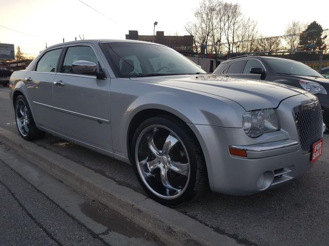 2008 Chrysler 300 C-HEMI-5.7 LT-NAVI-LEATHER-SUNROOF-BLUETOOTH-ALLOY