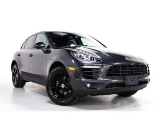 Used 2017 Porsche Macan SPORTS CHRONO   PANO   NAVI   BOSE for sale in Vaughan, ON