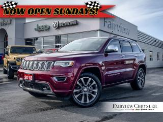 Used 2018 Jeep Grand Cherokee Overland l PANO ROOF l ACTIVE SAFETY GRP l for sale in Burlington, ON