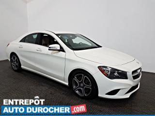 Used 2016 Mercedes-Benz CLA-Class CLA 250 AWD Automatique - A/C - Sièges Chauffants for sale in Laval, QC