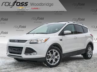 Used 2014 Ford Escape LOW K's 4WD Titanium, SUNROOF, NAV, SONY for sale in Woodbridge, ON