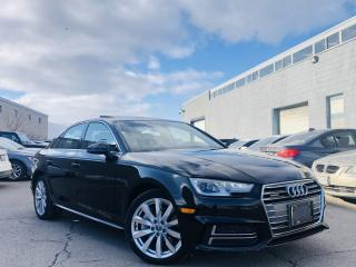 Used 2018 Audi A4 |AUTO|QUATTRO|SUN ROOF|HEATED SEATS|REAR VIEW CAMERA! for sale in Brampton, ON