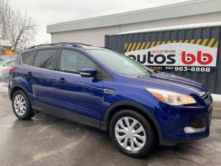 Used 2013 Ford Escape 4x4 4WD 4 RM SEL CUIR for sale in Laval, QC