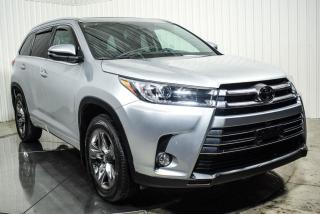 Used 2017 Toyota Highlander LIMITED AWD CUIR TOIT PANO NAV for sale in St-Hubert, QC