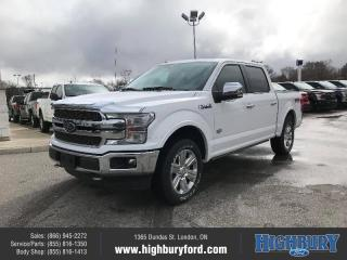 New 2020 Ford F-150 King Ranch for sale in London, ON
