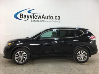 Used 2015 Nissan Rogue SL - AWD! HTD LEATHER! PANOROOF! NAV! 46,000KMS! for sale in Belleville, ON