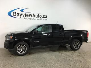 Used 2019 Chevrolet Colorado WT - 4X4! V6! PAINTED BUMPERS! ONLY 8700KMS! for sale in Belleville, ON