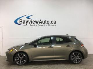 Used 2019 Toyota Corolla Hatchback XSE - 1/2 LEATHER! NAV! for sale in Belleville, ON
