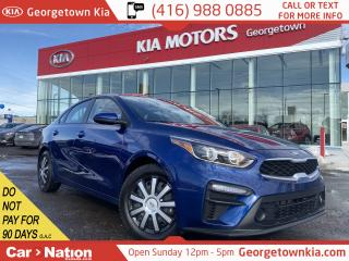 Used 2020 Kia Forte LX | IVT | 1 OWNER | CLEAN CARFAX | B/UP CAM | B/T for sale in Georgetown, ON
