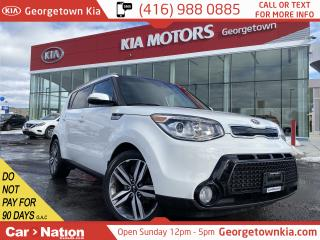 Used 2016 Kia Soul SX LUX|CLEAN CFAX|NAV|LTHR|PANO ROOF|HTD/CLD STS| for sale in Georgetown, ON