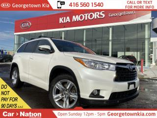 Used 2016 Toyota Highlander Limited AWD | LEATHER | ROOF| NAVI |BU CAM| 7 PASS for sale in Georgetown, ON