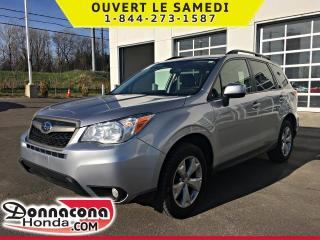 Used 2016 Subaru Forester 2.5i TOURING AWD *TOIT PANO, CAMERA* for sale in Donnacona, QC
