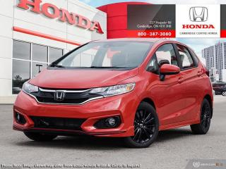 New 2020 Honda Fit Sport SPORT for sale in Cambridge, ON