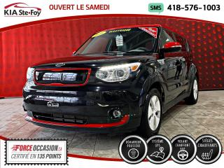 Used 2016 Kia Soul EV LUXE *CUIR *RECHARGE RAPIDE *A/C for sale in Québec, QC