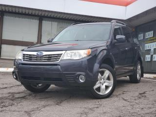 Used 2010 Subaru Forester 2.5 X Limited Package NO Accident | Sunroof | Leather for sale in Waterloo, ON