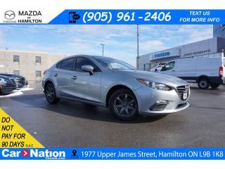 Used 2016 Mazda MAZDA3 GX | NAV | ALLOYS | REAR CAM | BLUETOOTH | for sale in Hamilton, ON