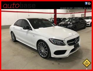 Used 2017 Mercedes-Benz C-Class C43 AMG 4MATIC AMG DRIVERS PREMIUM LED 360 CAM for sale in Vaughan, ON