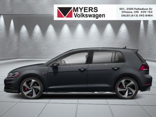 New 2020 Volkswagen Golf GTI Autobahn Auto for sale in Kanata, ON