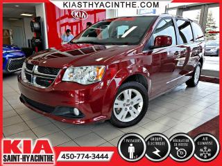 Used 2018 Dodge Grand Caravan Crew ** GR ÉLECTRIQUE / MAGS for sale in St-Hyacinthe, QC
