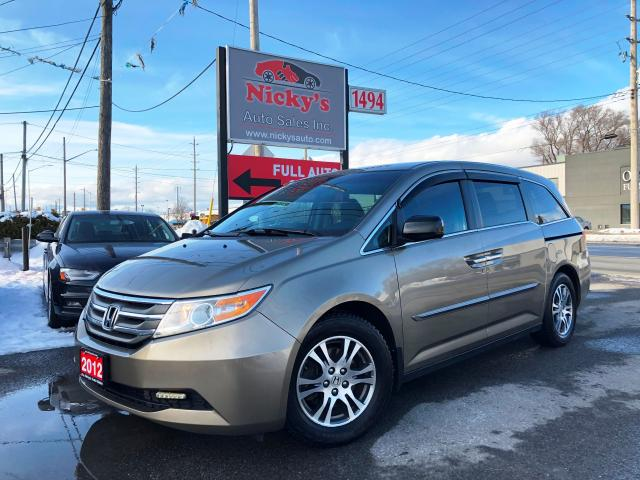 2012 Honda Odyssey EX - BACKUP CAM - 8 PASS - ALLOY WHEELS - CLEAN!