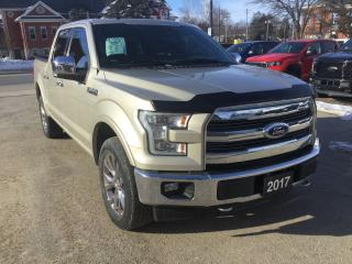 Used 2017 Ford F-150 Lariat | 4X4 | Twin Panel Moonroof for sale in Harriston, ON