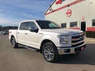 Used 2017 Ford F-150 Lariat with navigation/panoramic roof for sale in Tillsonburg, ON