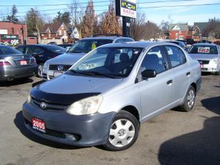 Used 2005 Toyota Echo AUTO,CERTIFIED,LOW KM'S,NO ACCIDENT,GAS SAVER for sale in Kitchener, ON