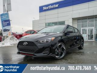 New 2020 Hyundai Veloster Turbo: 1.6L/AUTO/LEATHER/BLUELINK/APPLE CARPLAY for sale in Edmonton, AB