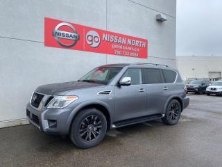 New 2020 Nissan Armada Platinum for sale in Edmonton, AB