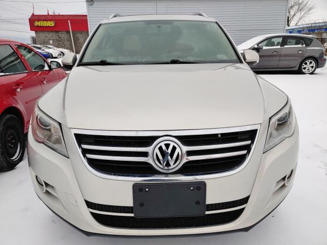 2011 Volkswagen Tiguan Wolfsburg Edition