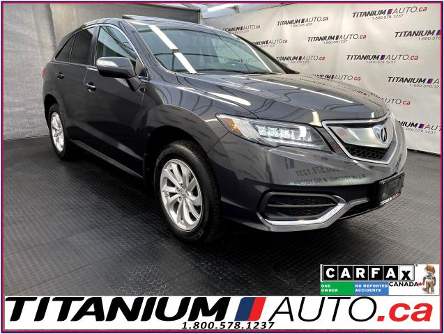 2016 Acura RDX Tech PKG+AWD+GPS+Camera+Blind Spot+Lane Assist+XM+