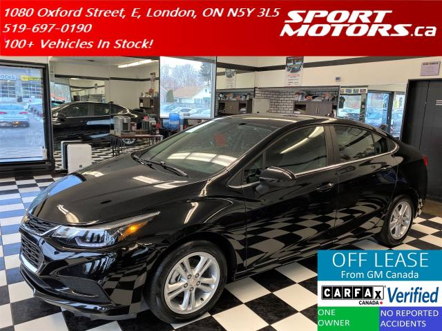 2018 Chevrolet Cruze LT+Apple Play+Camera+Heated Seats+Accident Free